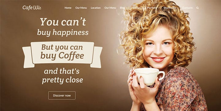 Wiz Responsive WordPress Theme responsive wordpress theme - wiz responsive wordpress theme cafe - Why Using a Responsive Wordpress Theme is Crucial for your Business?